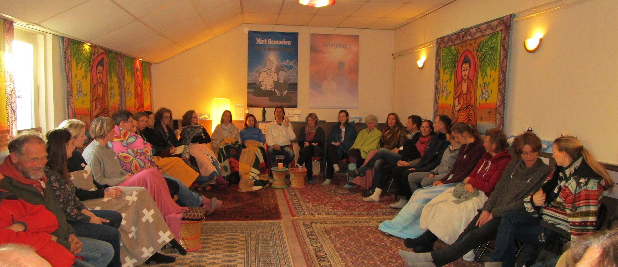 Meditatieve opening workshop